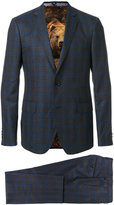 Etro checked two-piece formal suit - men - Cotton/Cupro/Viscose/Wool - 48