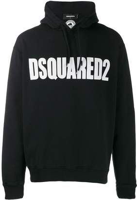 DSQUARED2 logo hooded sweater