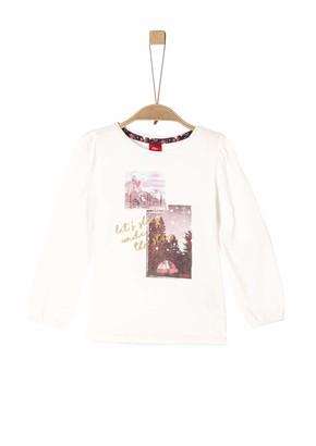 S'Oliver Girls' 53.909.31.8965 Longsleeve T-Shirt
