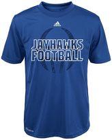 adidas Boys 4-7 Kansas Jayhawks Sideline Helmet Shock Energy Tee
