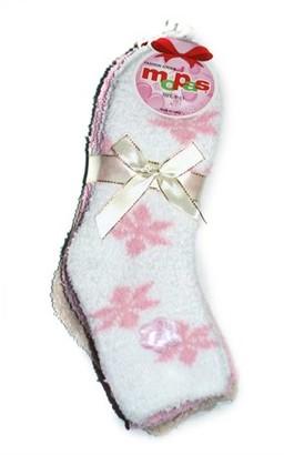 Glass House Apparel Women's Fuzzy Slipper Warm Extra Soft Winter Cozy Christmas Socks,