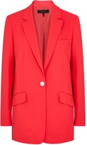 Rag & Bone Neon Pink Stretch-wool Blazer