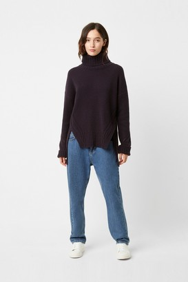 French Connection Sola Ladder Knits Roll Neck Jumper
