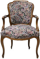 One Kings Lane Vintage Louis XV-Style Walnut Armchair