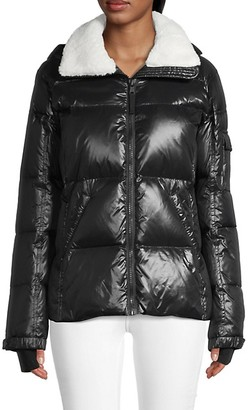 S13 Chloe Faux Fur Down Puff Jacket