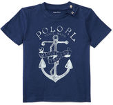 Ralph Lauren Boy Cotton Jersey Graphic Tee