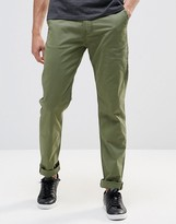 Lee Cargo Trousers Tapered Fit Stretch Twill In Green