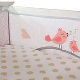 Lambs & Ivy Love Song 4-Piece Crib Bumper by