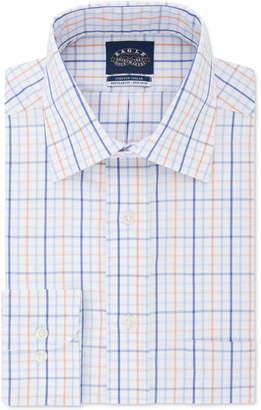 Eagle Men Classic-Fit Windowpane Dress Shirt