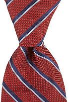 Hart Schaffner Marx Series Stripe Traditional Silk Tie