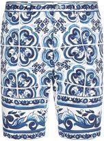 Dolce & Gabbana Majolica Bermuda Shorts