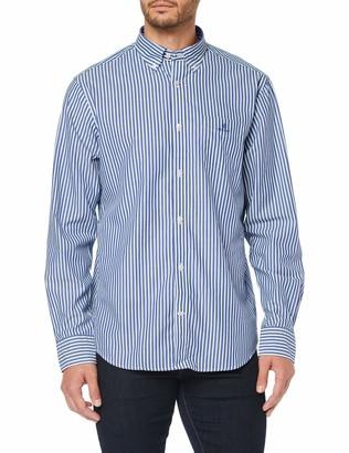 Gant Men's The Broadcloth Stripe Reg Bd Casual Shirt