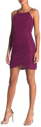Sparkle Knit Crepe Bodyon Dress