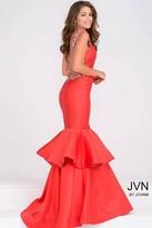 Jovani Open Back Mermaid Prom Dress JVN41679