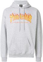 Thrasher flame hoodie