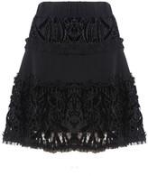 Alexis Antonina Short Skirt Black Velvet
