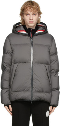 Moncler Grey Down Champsaur Jacket