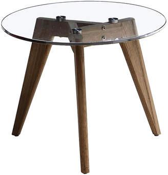 Mikasa Sophia Glass Side Table