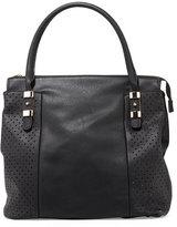 Urban Originals Mistify Perforated Tote Bag, Black
