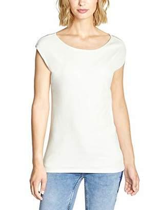 Street One Women's 313771 Ada Vest, (White 10108), 8 (Size: )