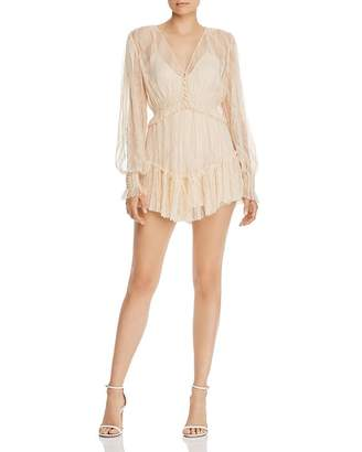 Alice McCall Harvest Moon Lace Romper