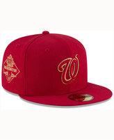 New Era Washington Nationals Team On Metallic 59FIFTY Cap
