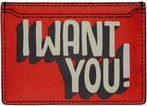Ports 1961 Orange I Want You Card Holder