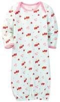 Vitamins Baby Strawberry & Cherry Gown (Baby Girls)