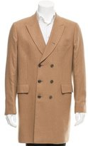 Paul Smith Double-Breasted Camel Coat