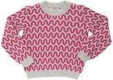 Knitted Wool Jacquard Sweater