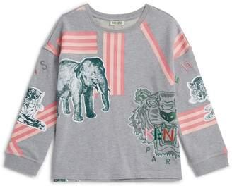 Kenzo Icon Tiger and Jungle Print Sweatshirt