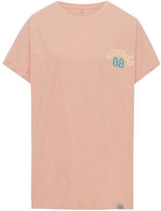 Komodo Sunrise 88 - Gots Organic Cotton Tee Peach