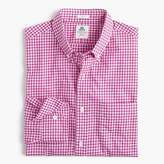 Thomas Mason Slim washed for J.Crew shirt in small gingham
