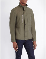 Tom Ford Funnel-neck Cotton-blend Jacket