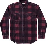 RVCA Men's Wayman Plaid Long Sleeve Shirt