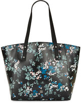 Ivanka Trump Alexey Floral Faux Leather Shopper Bag