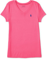 Ralph Lauren Slim-Fit T-Shirt, Big Girls (7-16)