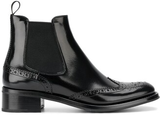 Church's Ketsby 35 brogue Chelsea boots