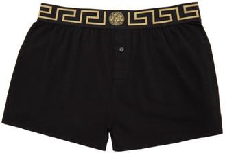 Versace Underwear Black Medusa Boxers