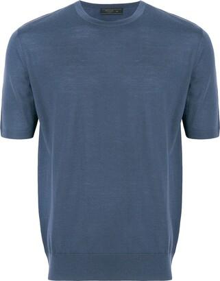 Prada Short Sleeve Knitted Jumper