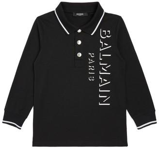 Balmain Kids Logo Polo Shirt (4-16 Years)