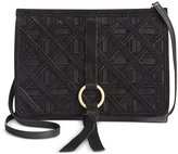Nanette Lepore Leather Crossbody Clutch