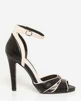 Le Château Leather-Like Ankle Strap Pump