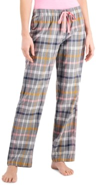 Jenni Cotton Pajama Pants, Created for Macy's