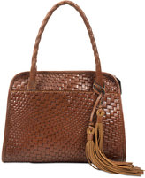Patricia Nash Woven Paris Medium Satchel