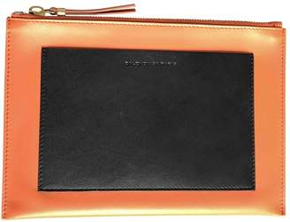 Balenciaga Orange Leather Clutch bags