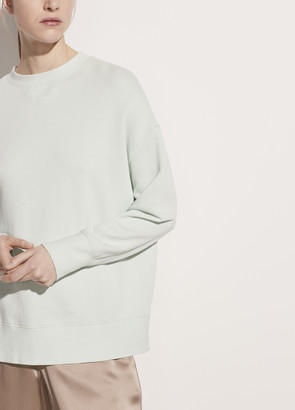 Vince French Terry Drop Shoulder Pullover