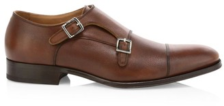 To Boot Ultra Flex Positano Leather Double Monk-Strap Shoes