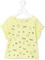 Knot - Water symbols t-shirt - kids - Cotton - 3 yrs