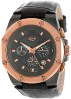 Esprit Men's ES102881008 Clear Octo Gun Rosegold Analog Chronograph Watch